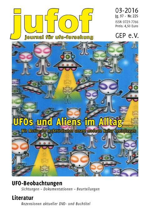 Die aktuelle Ausgabe des Journals für UFO-Forschung